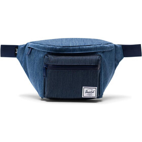 Herschel Seventeen Ensemble de sacoches de ceinture, faded denim/indigo denim